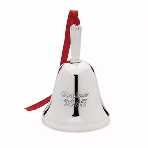 Mikasa 2nd Edition 2015 Bell silver ornament